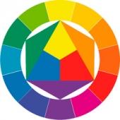 Цветовое решение дизайна сайта