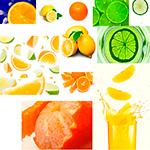 Клипарт Апельсины, Лимоны, Лаймы