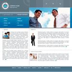 Шаблон бизнес сайта