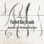 Кисти пряди волос