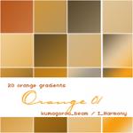 Оранжевые градиенты