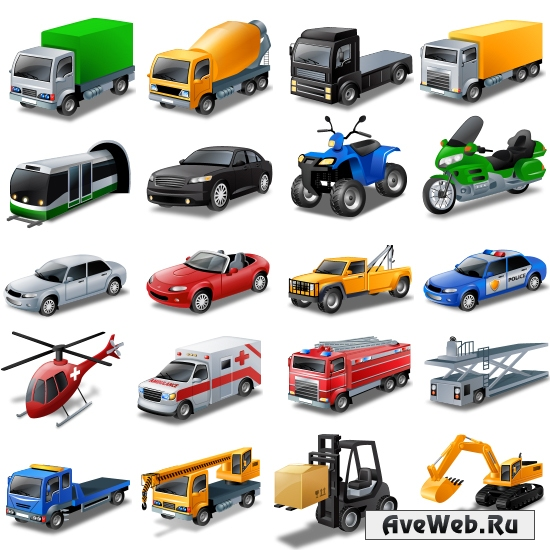 Иконки транспорт