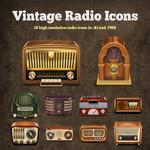Иконки радио