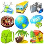 Иконки туризм