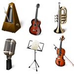 Музыкальные иконки