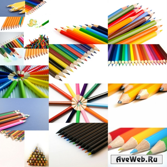 Клипарт карандаши