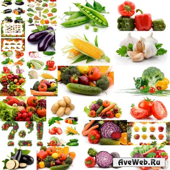 Клипарт овощи