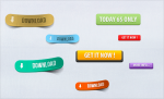 Креативные кнопки на сайт