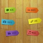 Кнопки (стикеры) на сайт