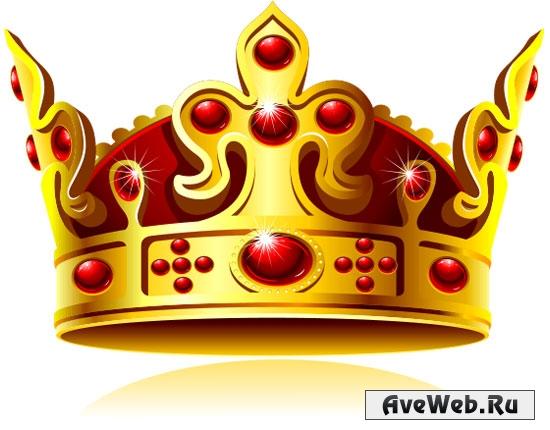 Корона в векторе