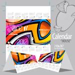 Календарь 2012 в векторе