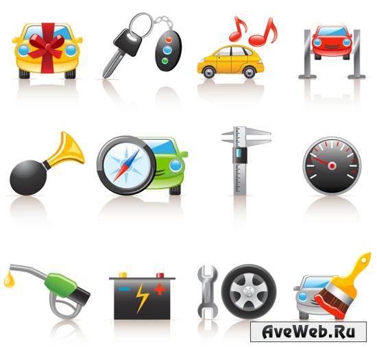 Авто иконки
