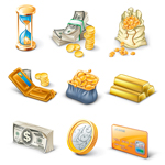 Финансовые иконки